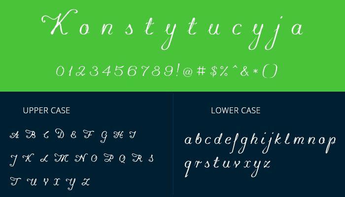 pretty cursive font 2