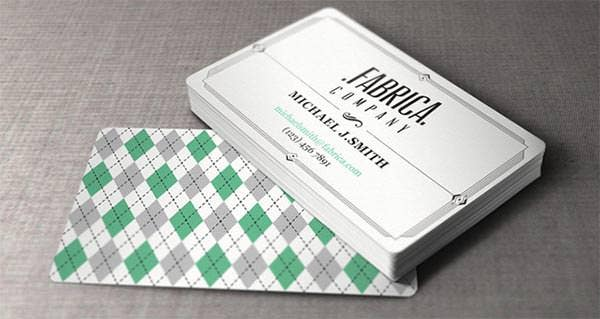 21 best vintage style business cards free premium templates vintage and retro style business card reheart Image collections