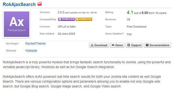 rokajaxsearch 2