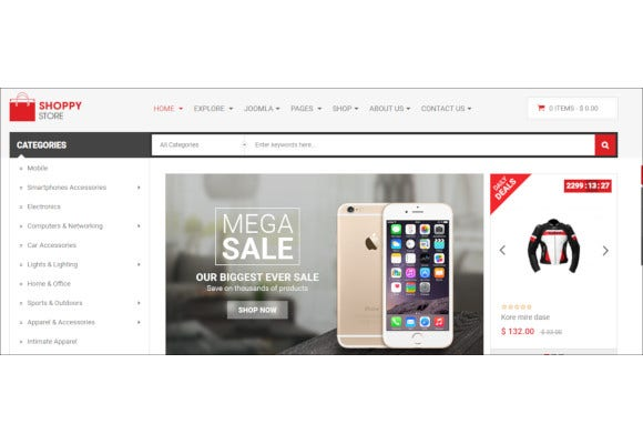 shoppystore responsive multipurpose virtuemart theme
