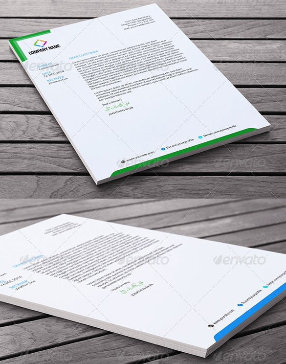 32  word letterhead templates