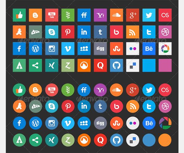 social media icons 5426489