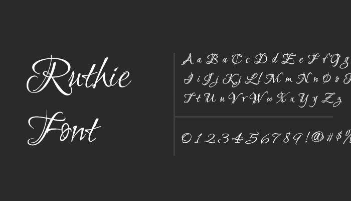 tattoo font cursive
