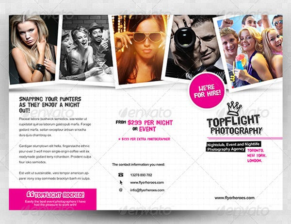 topflight a4 trifold brochure template