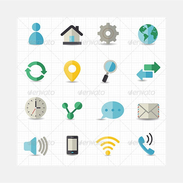 web and internet icons 84177