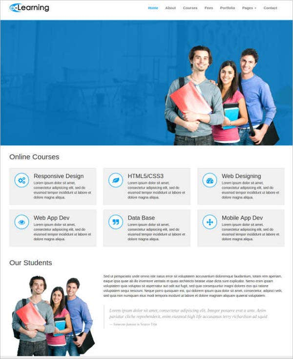 elearning-free-educational-responsive-web-template