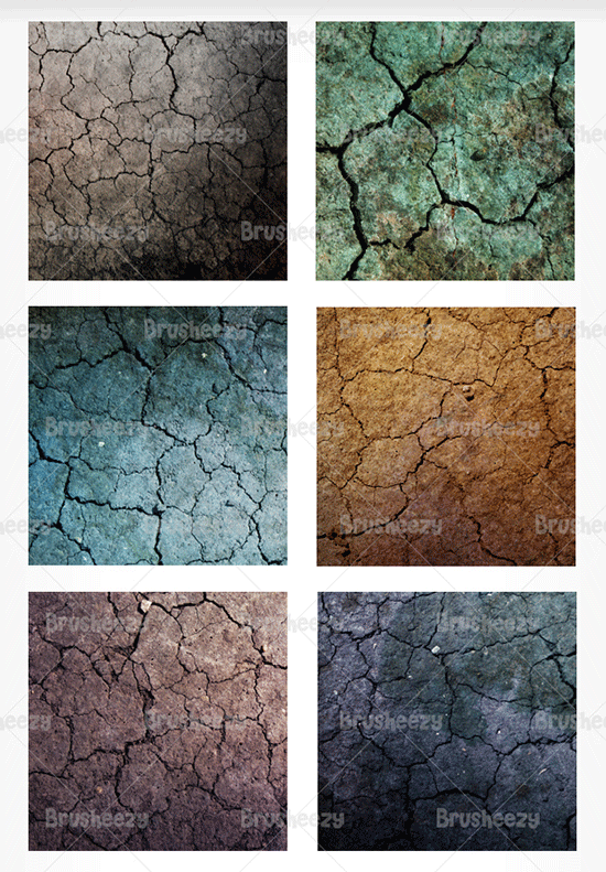 grungy cracked textures