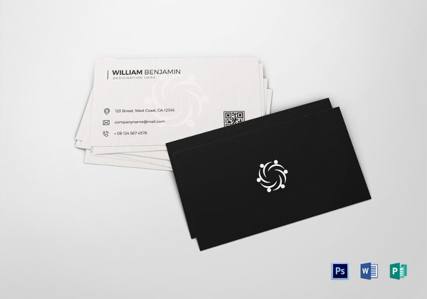 31 Best Collection Of Personal Business Card Templates Psd Ai