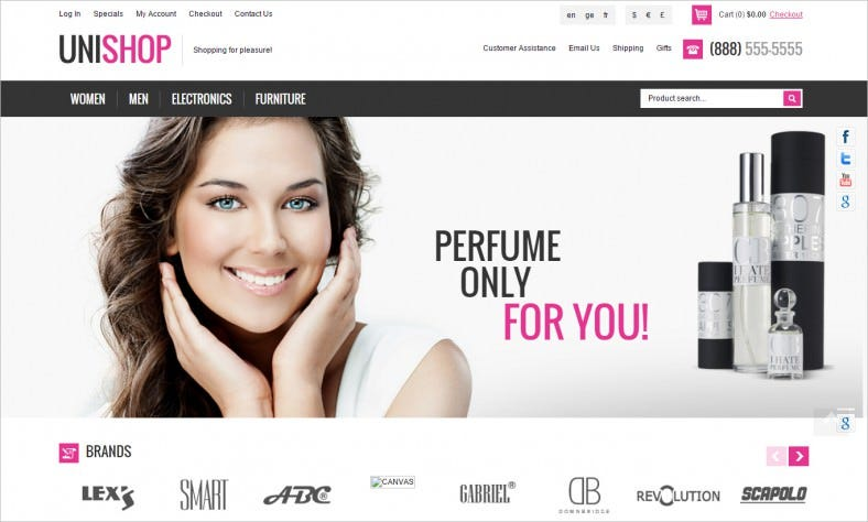 unishop oscommerce template