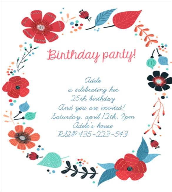 birthday invitation11