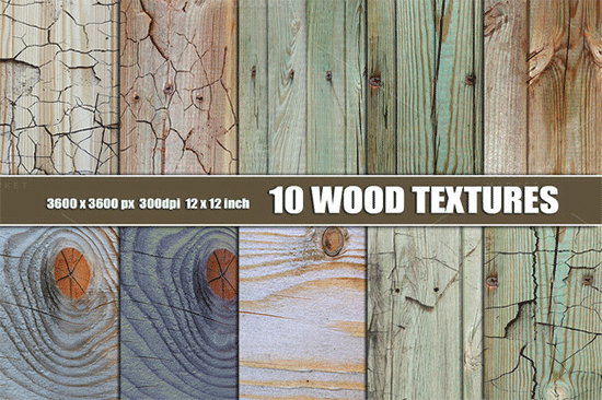 10 painted wood texture backgrounds