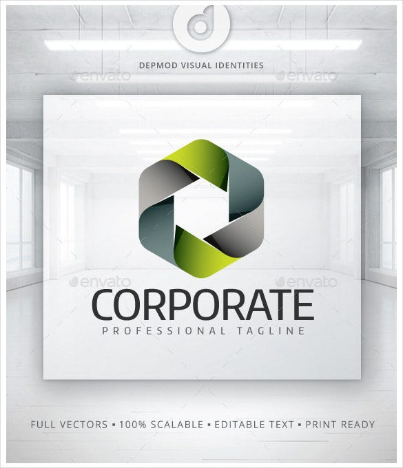 corporate logo vector eps template0a