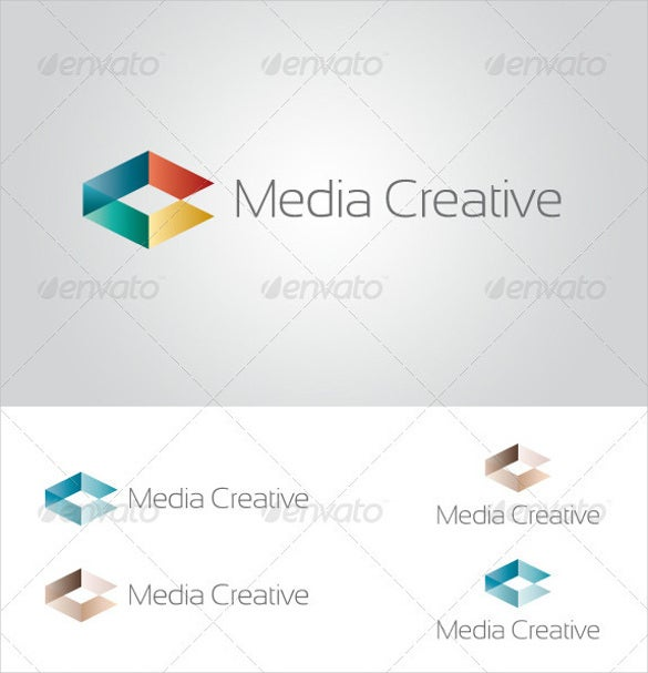 media creative logo download