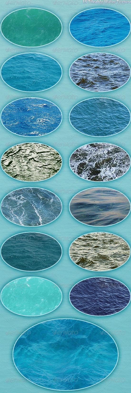 15 water textures