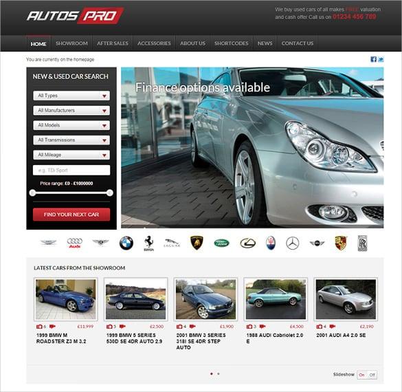 auto template