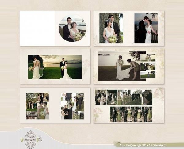 60+ Wedding Album Design Templates - PSD, AI, InDesign | Free ...