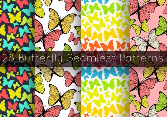 28 butterfly seamless