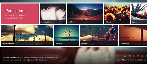 parallelism html5 template1