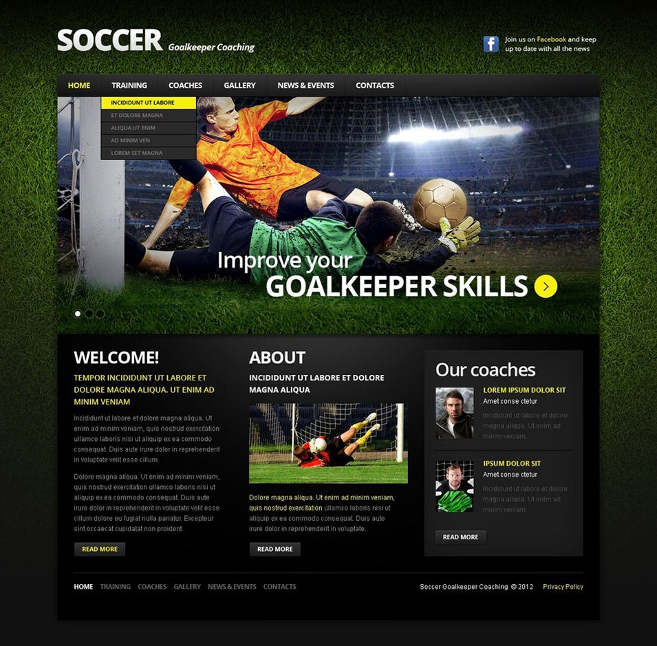 Soccer online dating site