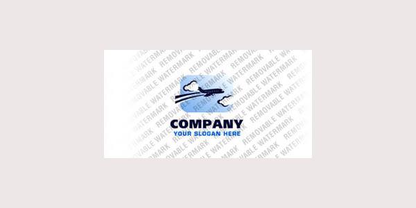 Private Airline Logo Template