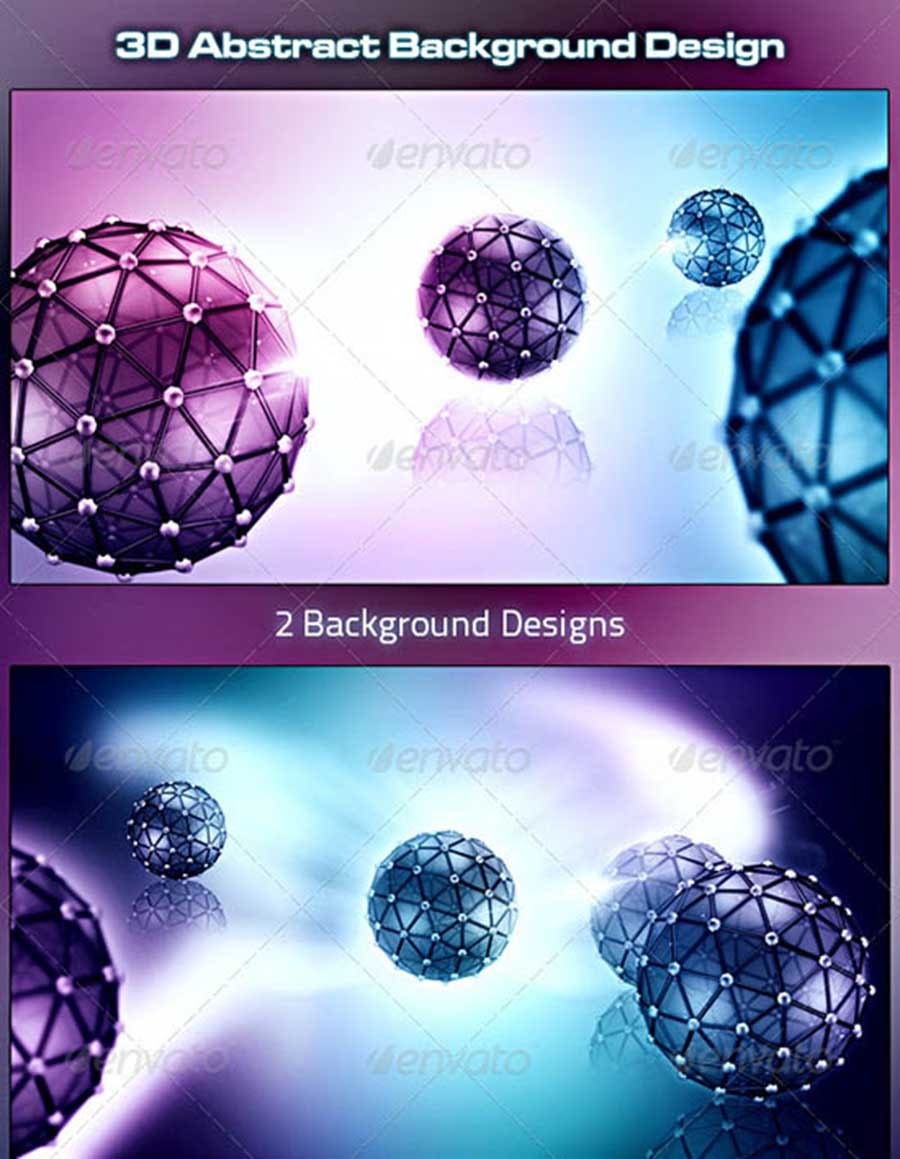 3d abstract background design co