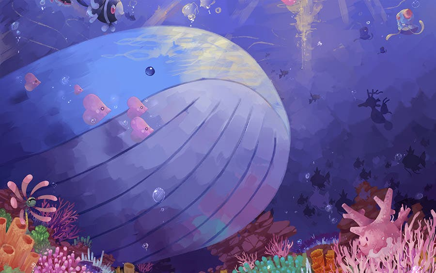 3d aquarium with fish1