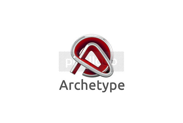 3d architecture logo