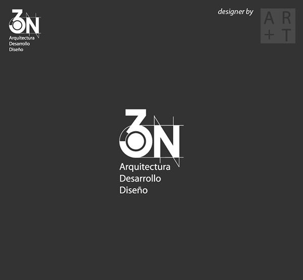 3N Architecture logo by argatraffic