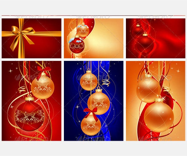6 Christmas Vectors