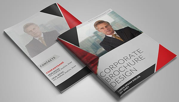 8 Page Corporate Bifold Brochure