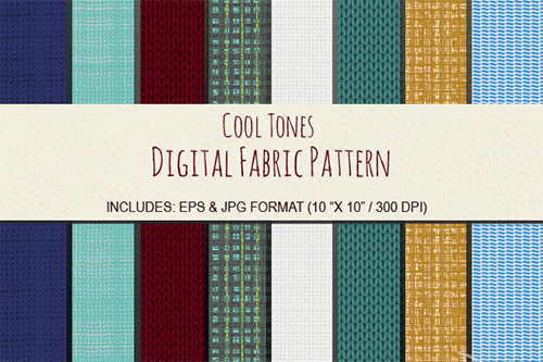 8 seamless fabric pattern design