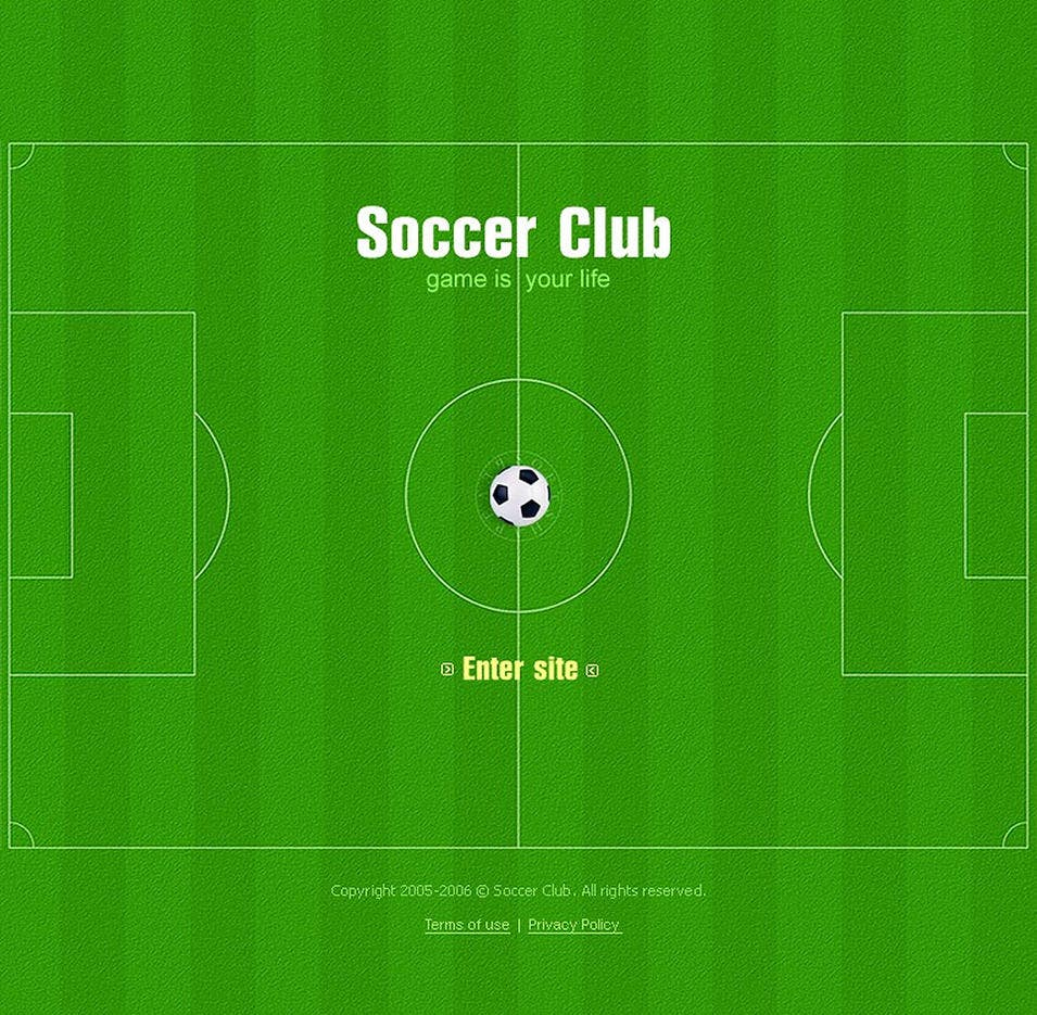 30 Soccer Club Website Themes Templates Free Premium Templates