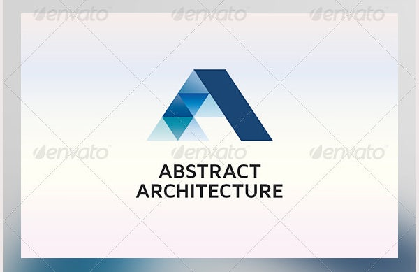 abstract architecture logo template