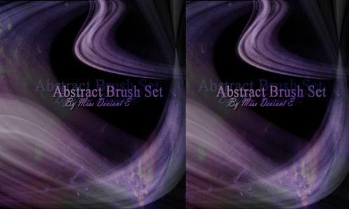 abstract brushes ps