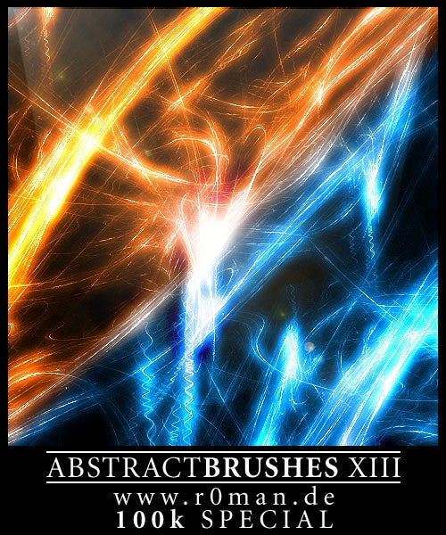 abstract brushes xiii