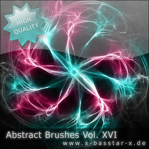 abstract brushes vo