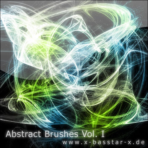 abstract brushes vol