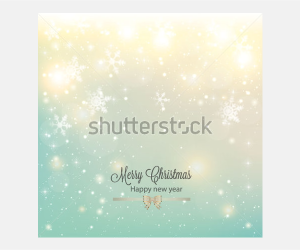 Abstract Christmas background with snowflakes and place for