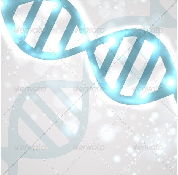 abstract dna vector file