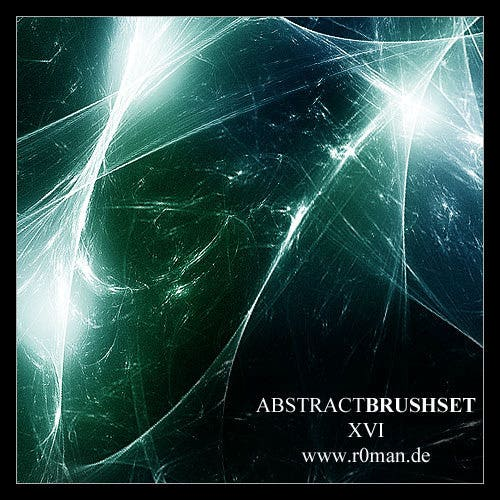 abstract fractal brushset 16