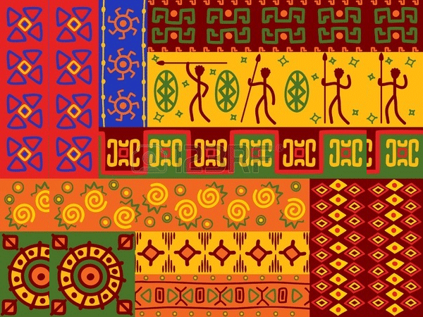 abstract african ethnic patterns and ornaments for design1