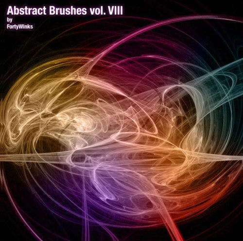 abstract brush pack vol