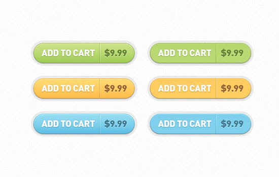 add to cart buttons design
