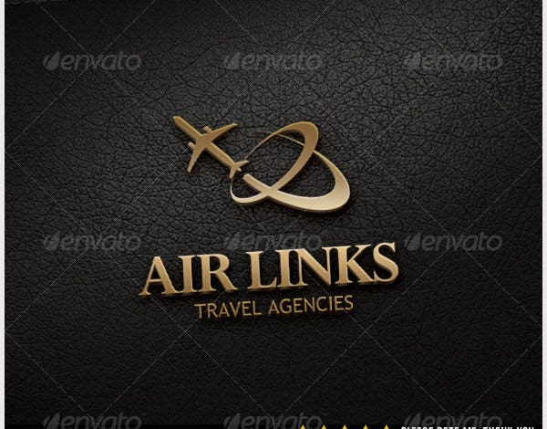 Air Links Logo Template