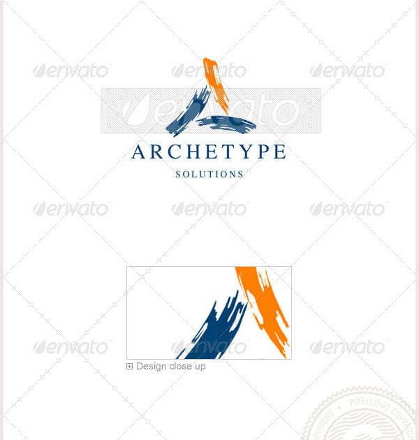 T Is An Excellent Logo Template Highly Suitable For Design And Architecture Businesses It A Fully Layered All The Colors Text Can Be