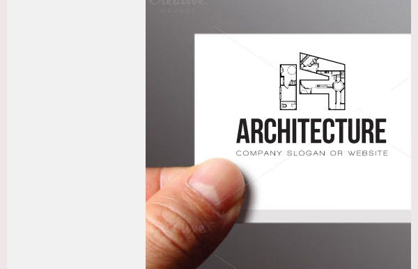 Architecture A Logo Template