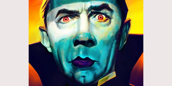 Bela Lugosi digital painting
