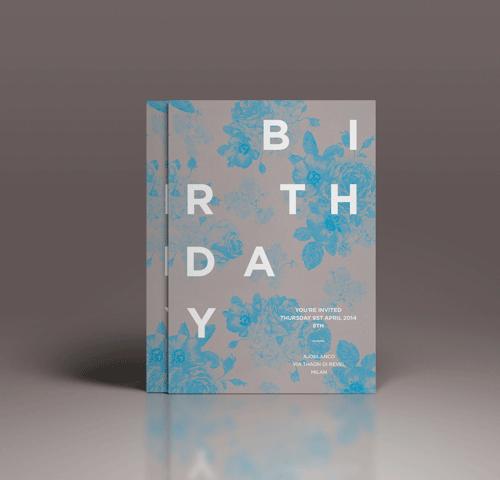 birthday invitation dario