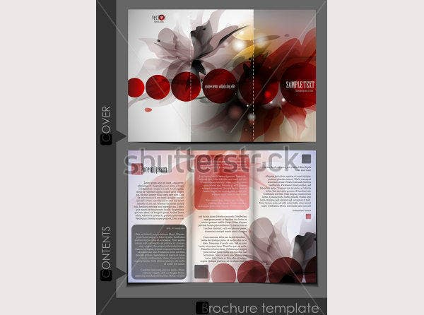 brochure template design1