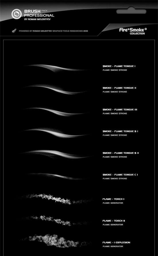 brush pack professional volume i